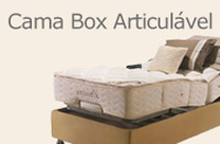 Cama Box Articulável
