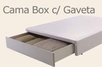 Cama Box com Gaveta