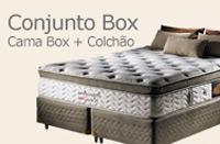 Conjunto Box - Cama Box + Colchão