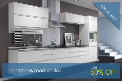Armários de cozinha modulada