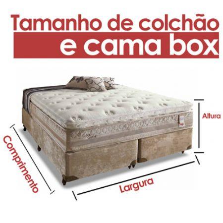 Quais Os Tamanhos De Colchões E Tamanho De Cama Box Disponíveis