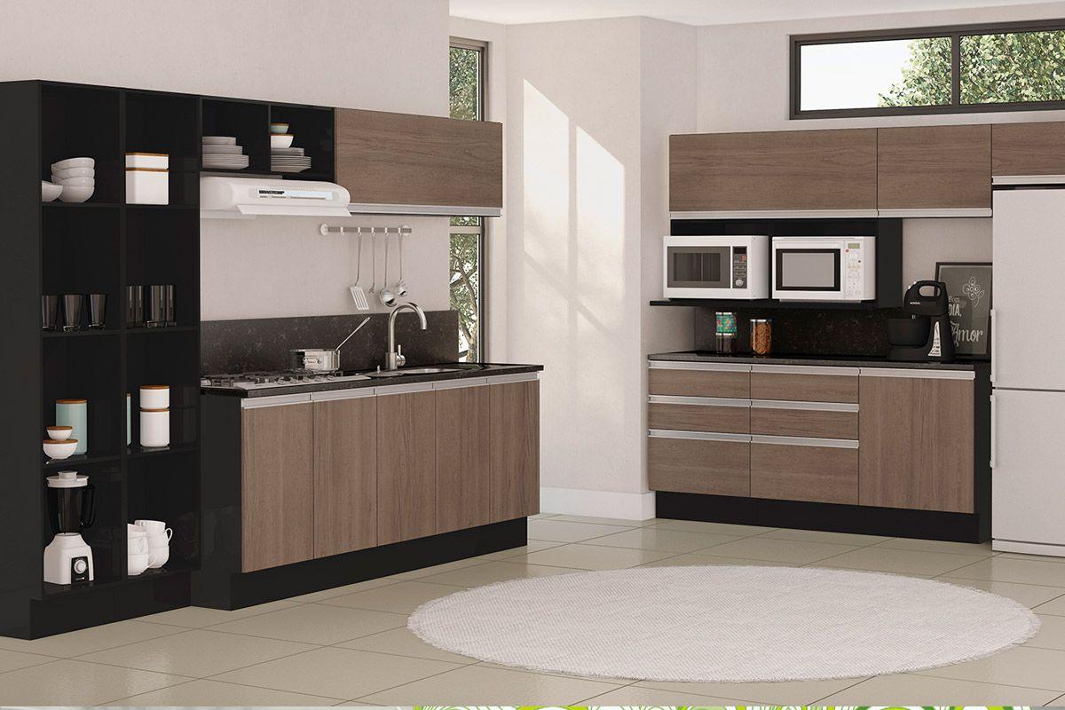Cozinha Modulada Kappesberg Wood