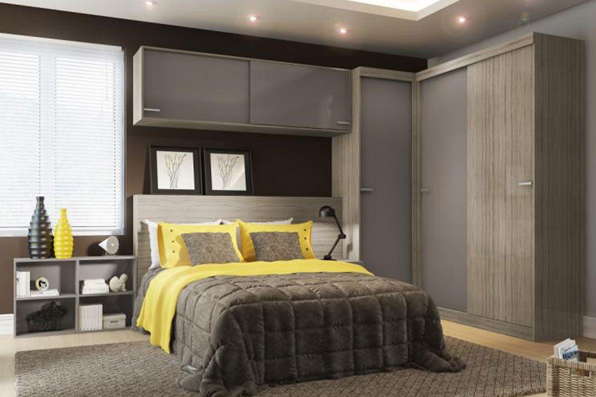 M Veis Modulados Ou M Veis Planejados  ~ Quarto De Solteiro Planejado Para Apartamento Pequeno