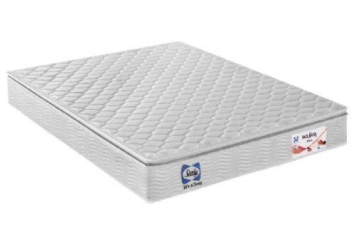 Colchão Sealy Molas Verticoil Back Saver BlancColchão Queen Size - 1,58x1,98x0,26 - Sem Cama Box