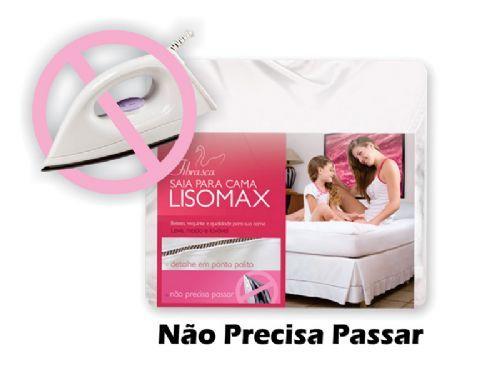 Saia Cama Casal Box Fibrasca LisomaxCasal  -  1,40 x 1,90