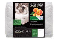 Protetor de Colchão Fibrasca Pele de Pêssego Impermeável - Queen Size  -  1,60 x 2,00