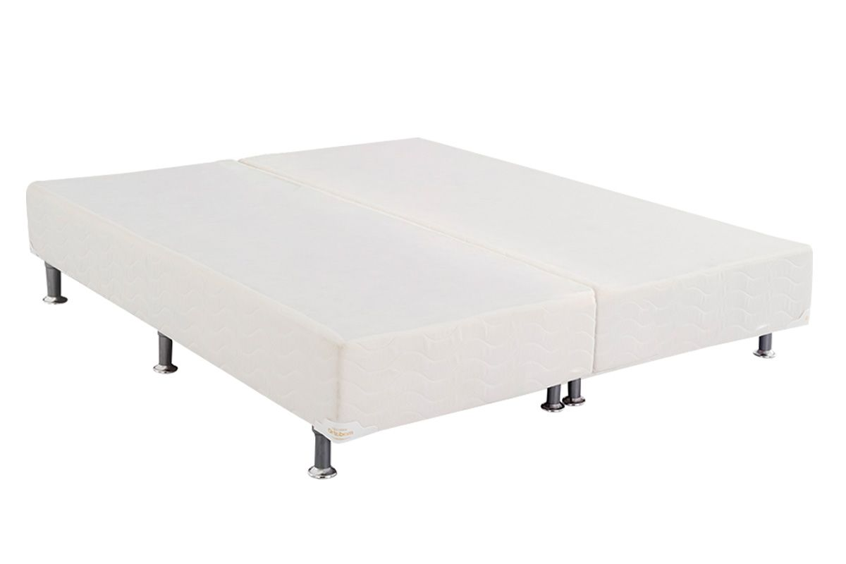 Cama Box Base Ortobom Physical Branco 20