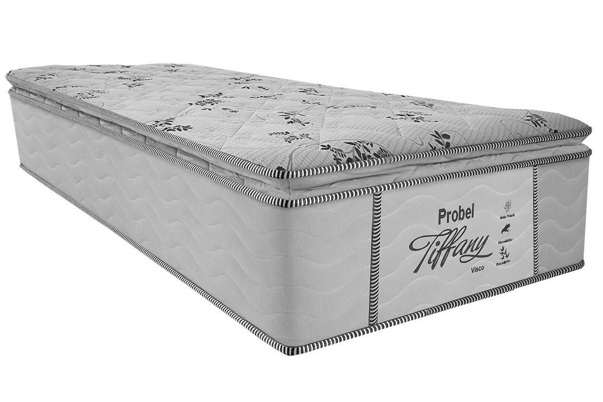 Colchão Probel Molas Prolastic TiffanyColchão Solteiro - 0,78x1,88x0,33 - Sem Cama Box
