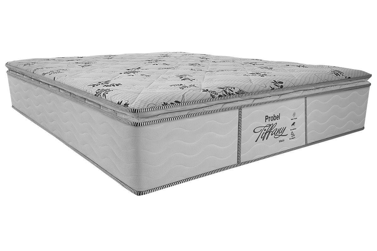 Colchão Probel Molas Prolastic TiffanyColchão Casal - 1,38x1,88x0,33 - Sem Cama Box