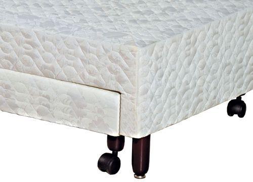 Cama Box Paropas Sleeping White c/ Auxiliar