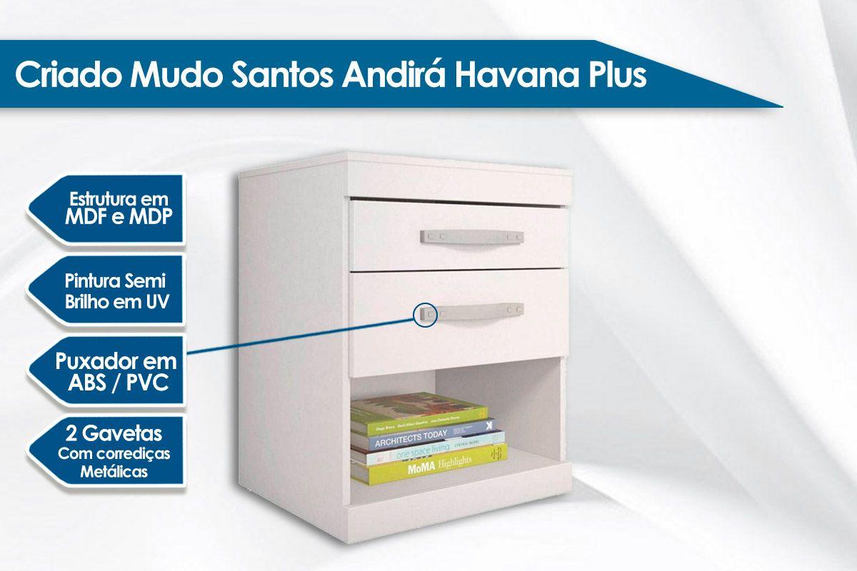 Criado Mudo Santos Andirá Havana Plus