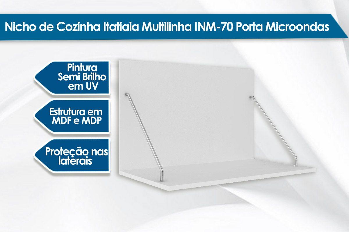 Suporte Microondas Itatiaia Multilinha INM-70