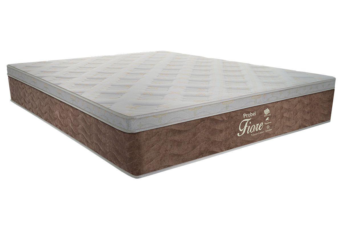 Colchão Probel Molas Pocket Fiore Confort LuxoColchão Casal - 1,38x1,88x0,32 - Sem Cama Box