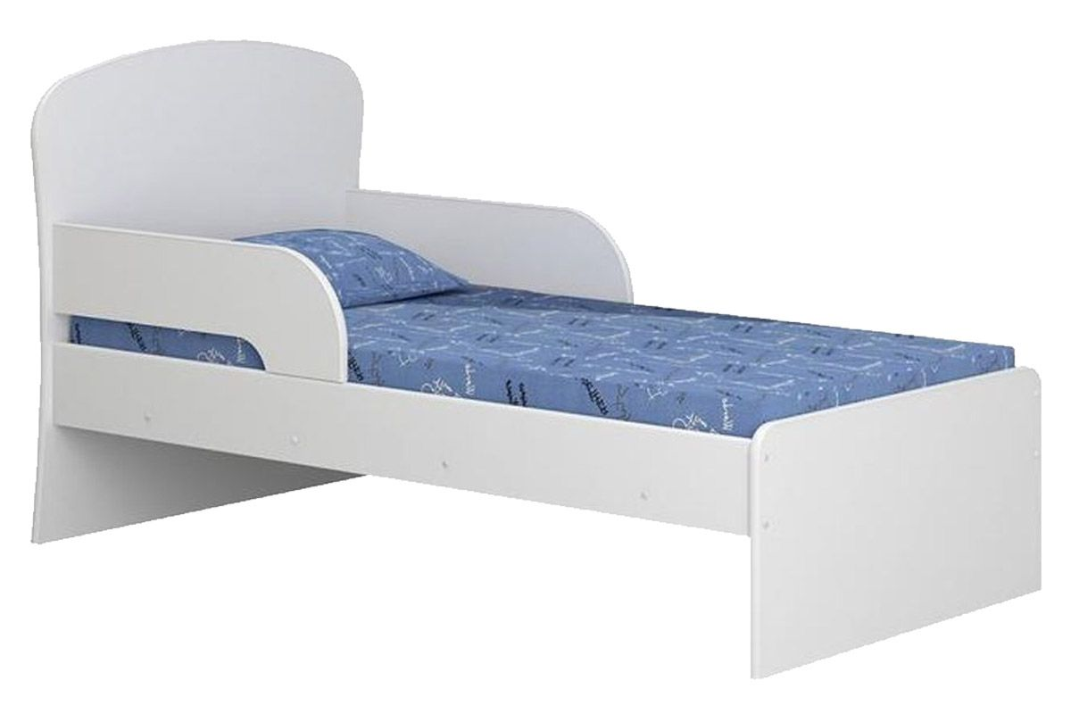 Mini Cama Multimóveis 6070Cor Branco Brilho