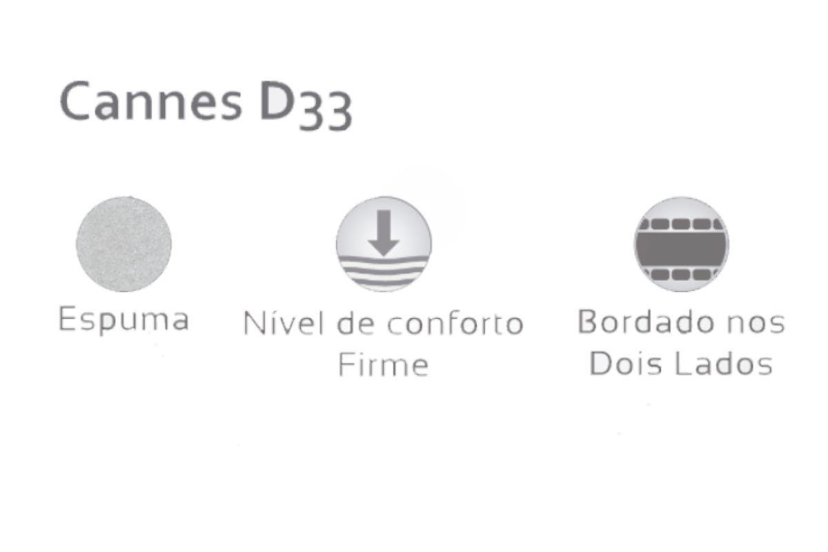 Colchão Herval Espuma D33 Cannes