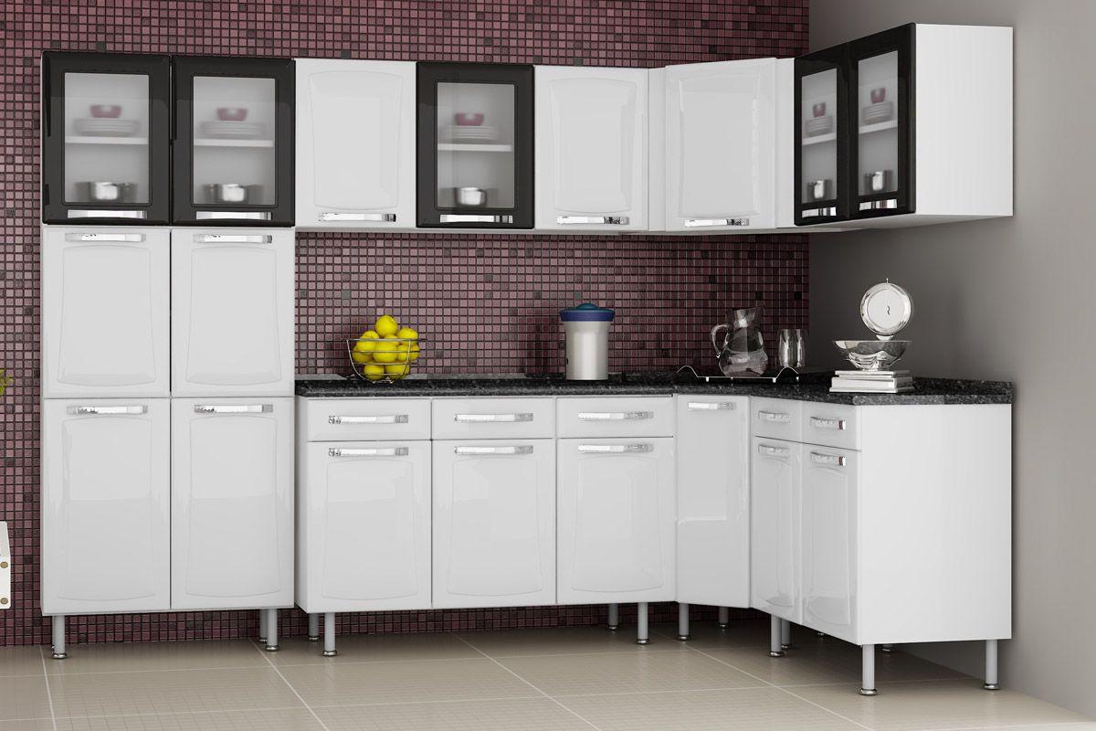 Cozinhas de Aço Completas com Armário Cozinha Itatiaia Criativa Aço  #C1B70A 1200 800