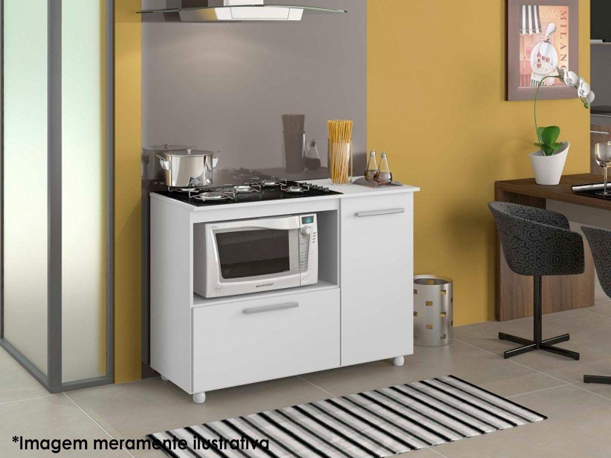 Balcão Cooktop Multimóveis c/ Cooktop 5006