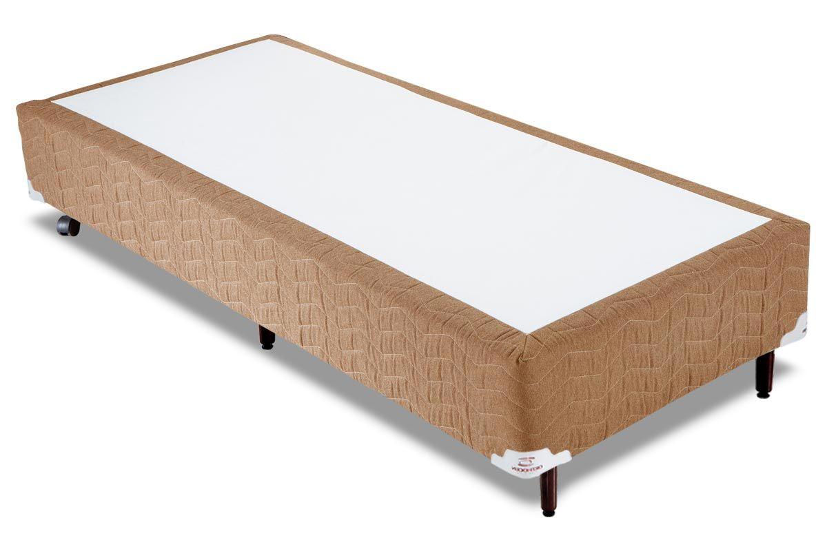 Cama Box Orthocrin Sommier Plus AvelãCama Box Solteiro - 0,88x1,88x0,24 - Sem Colchão