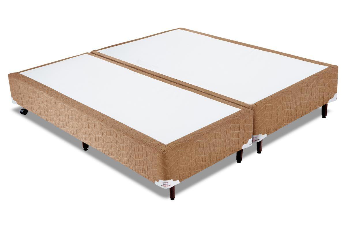 Cama Box Orthocrin Sommier Plus AvelãCama Box Queen Size - 1,58x1,98x0,24 - Sem Colchão