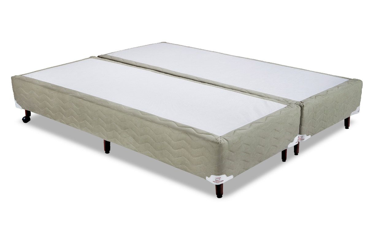 Cama Box Orthocrin Sommier Plus FendiCama Box Queen Size - 1,58x1,98x0,24 - Sem Colchão