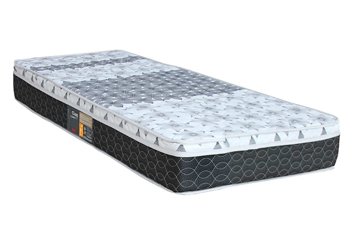 Colchão Castor Molas Bonnel System ClassColchão Solteiro - 0,88x1,88x0,25 - Sem Cama Box