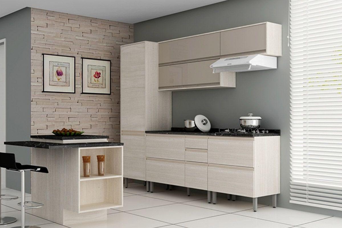 Cozinha Completa Itatiaia Belíssima de Madeira c/ 6 Peças CZ09 até  #5F4C40 1200x800