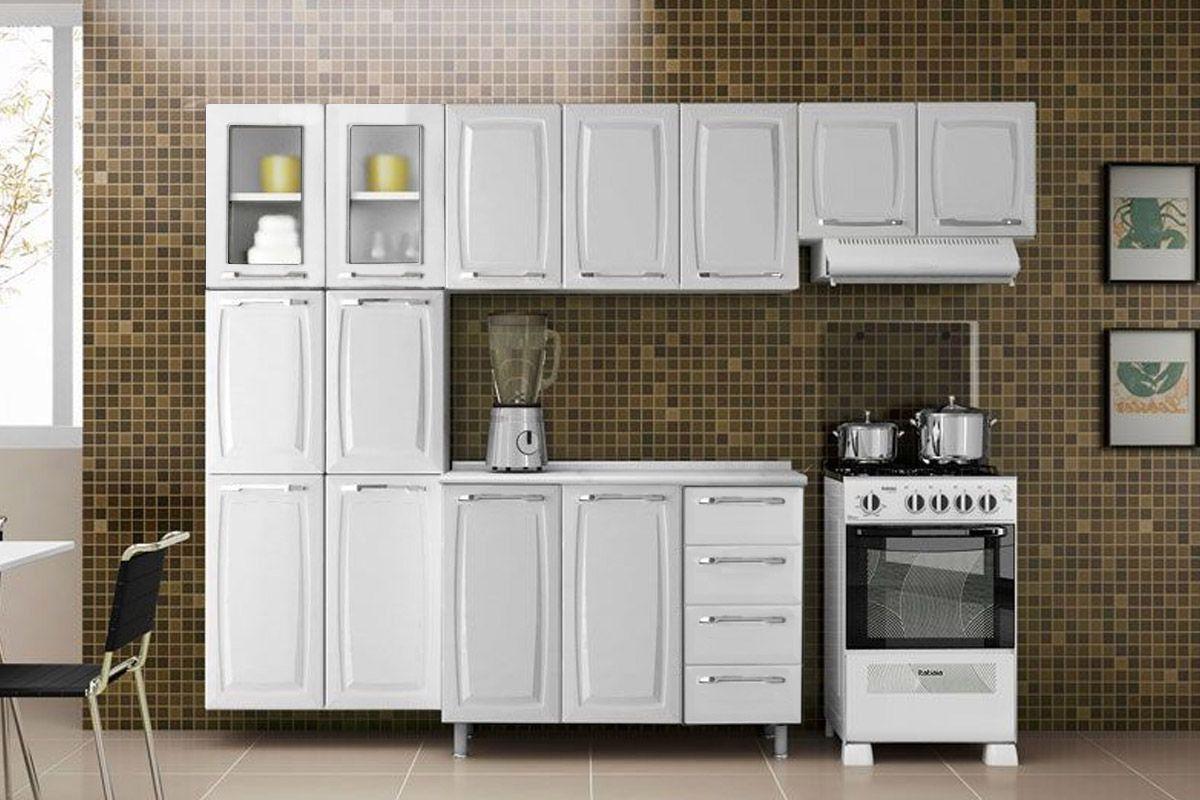 Cozinha Completa Itatiaia Criativa de Aço c/ 4 Peças CZ15 até 40%  #3C3323 1200 800