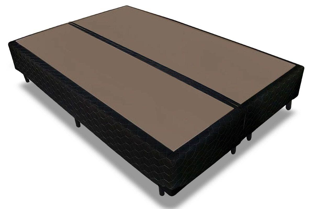 Cama Box Base Probel Tela BlackCama Box Queen Size - 1,58x1,98x0,25 - Sem Colchão