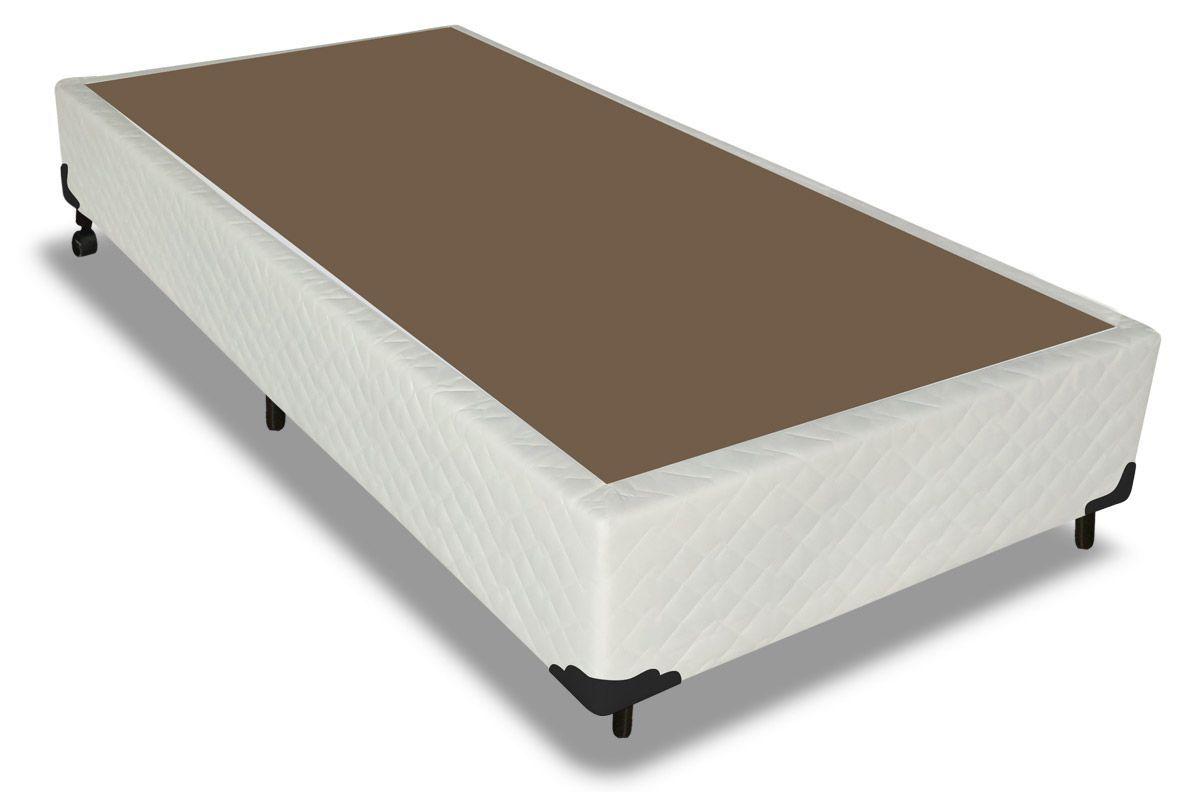 Cama Box Base Probel Tela PalhaCama Box Solteiro - 0,96x2,03x0,25 - Sem Colchão
