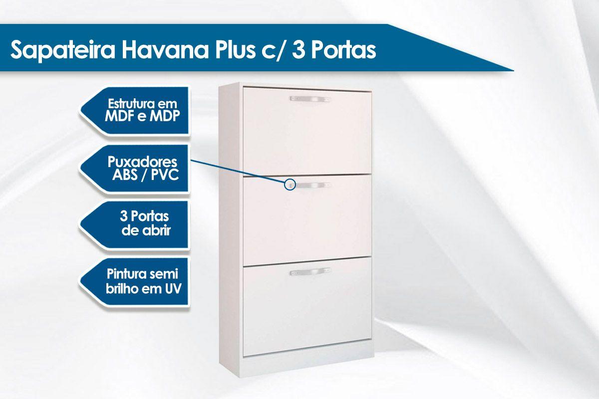 Sapateira Santos Andirá Havana Plus 3 Portas