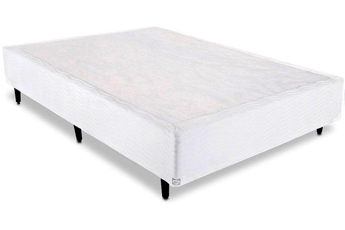 Cama Box Base Sealy Universal WhiteCama Box Casal - 1,38x1,88x0,25 - Sem Colchão