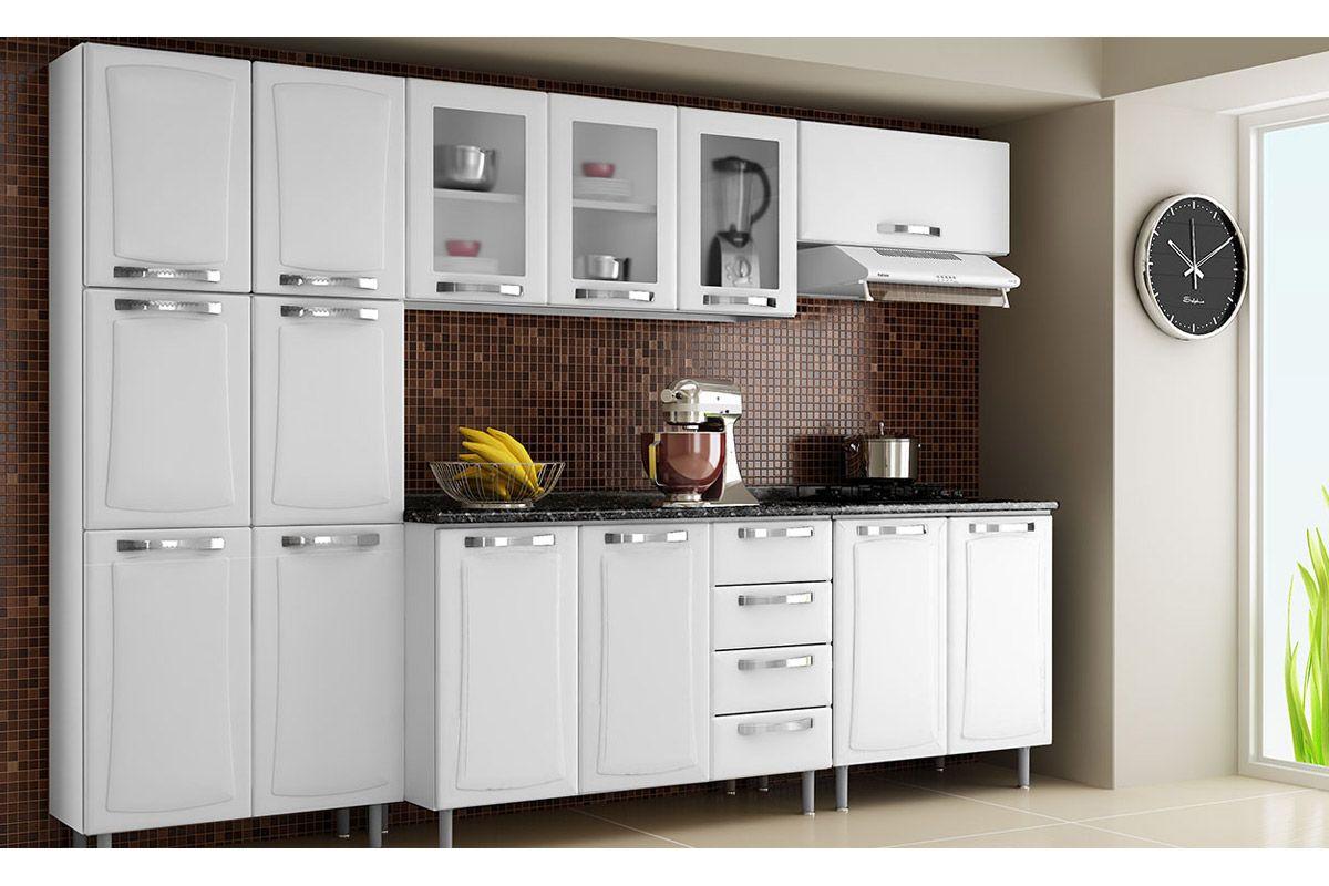 Cozinhas de Aço Completas com Gabinete (Balcão) de Cozinha Itatiaia  #AB8A20 1200 800