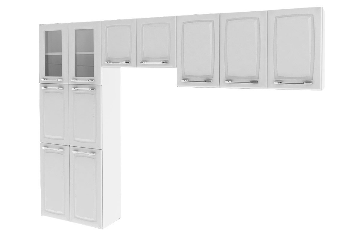 Cozinha Compacta Itatiaia Criativa (COZ MXII 2V)Cor Branco
