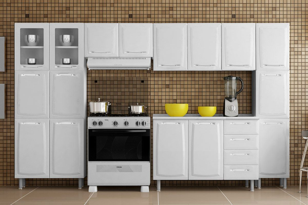 Cozinha Compacta Itatiaia Criativa (COZ MXII 2V)