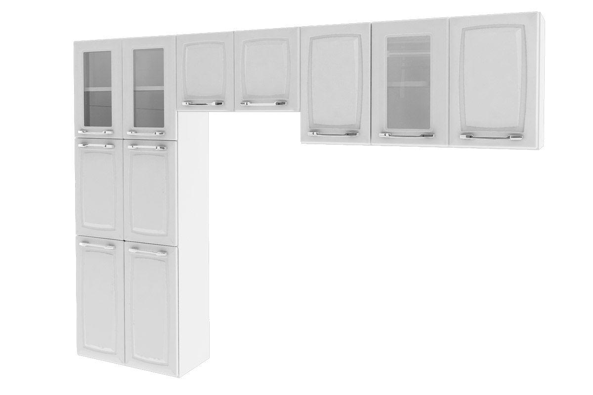 Cozinha Compacta Itatiaia Criativa (COZ MXII 3V)Cor Branco