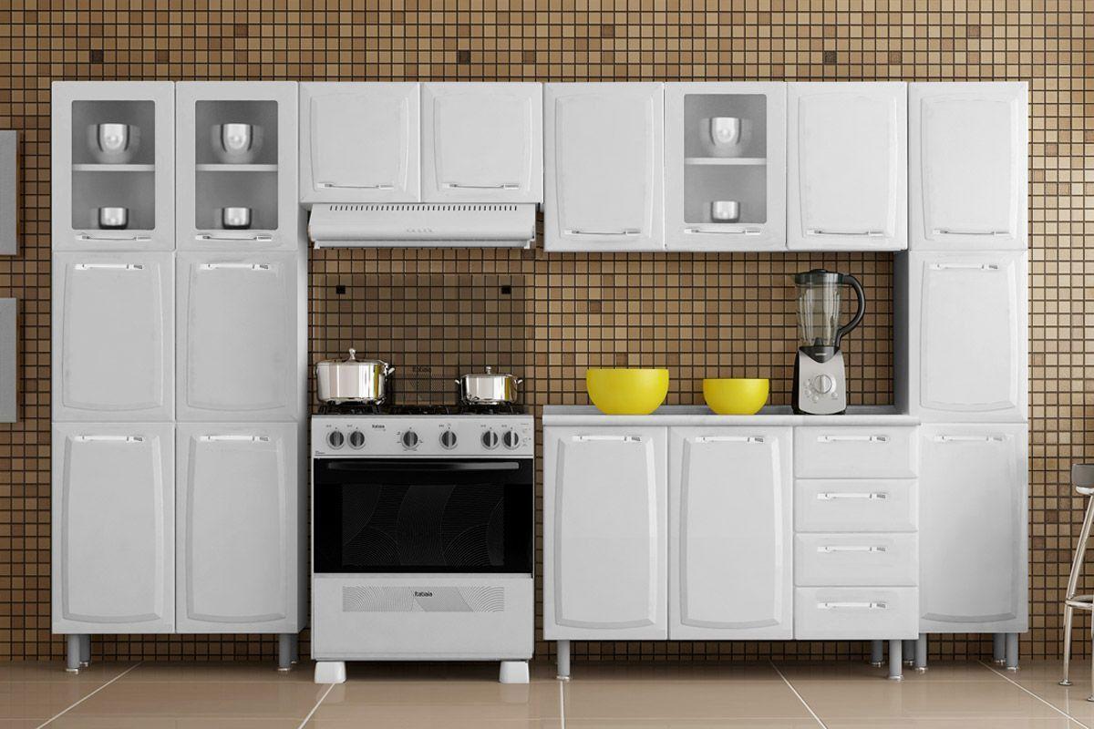 Cozinha Compacta Itatiaia Criativa (COZ MXII 3V)