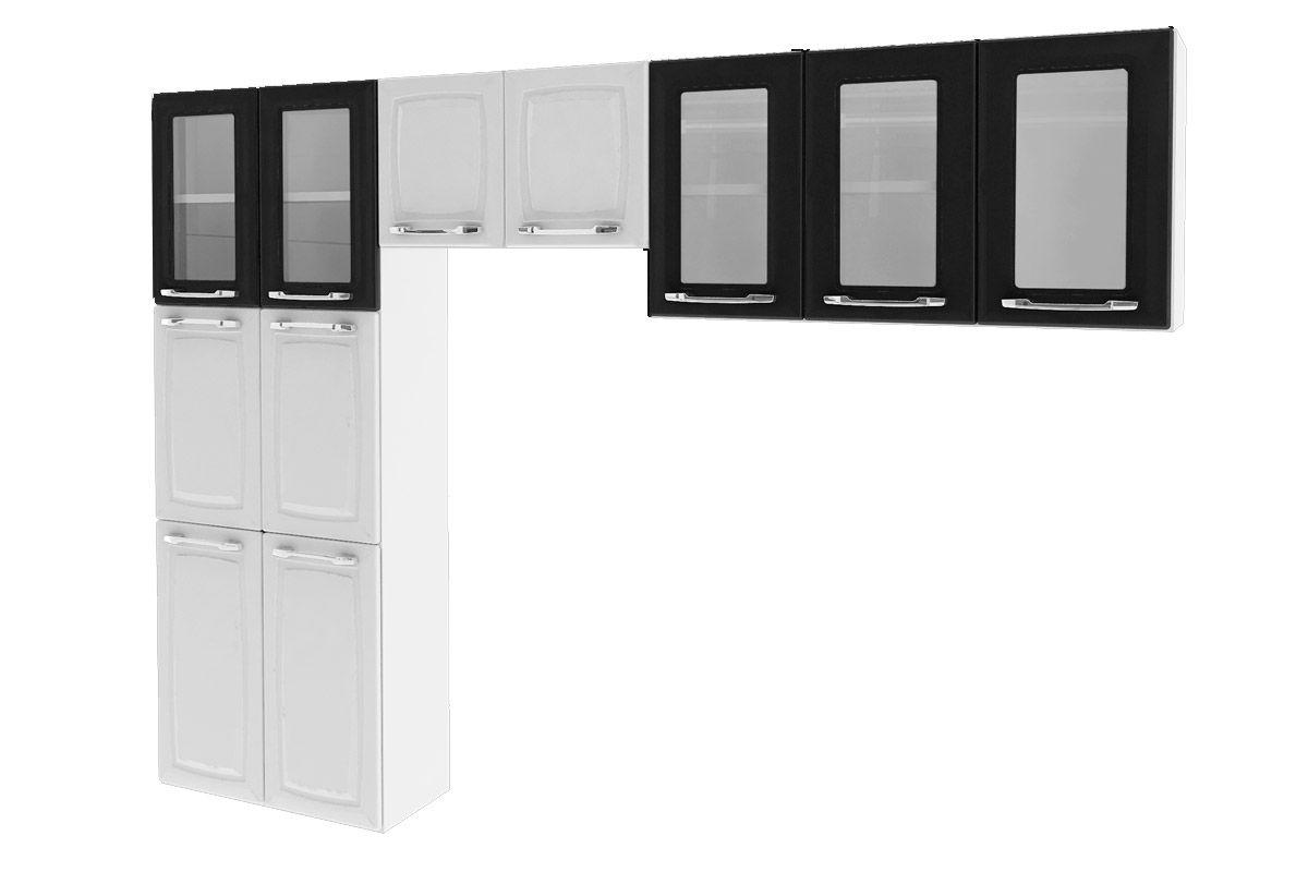 Cozinha Compacta Itatiaia Criativa (COZ MXII 5V)Cor Branco c/ Preto
