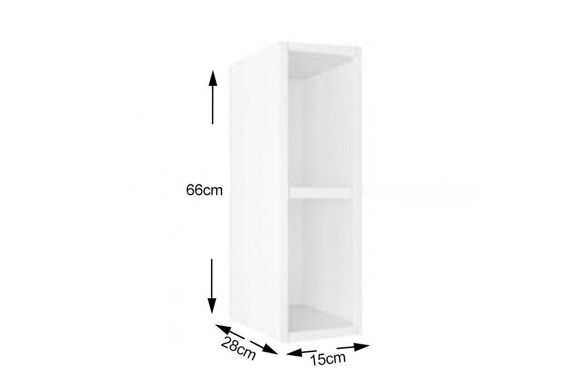 Nicho de Cozinha Itatiaia Multilinhas Aço Vertical Parede 15 cm