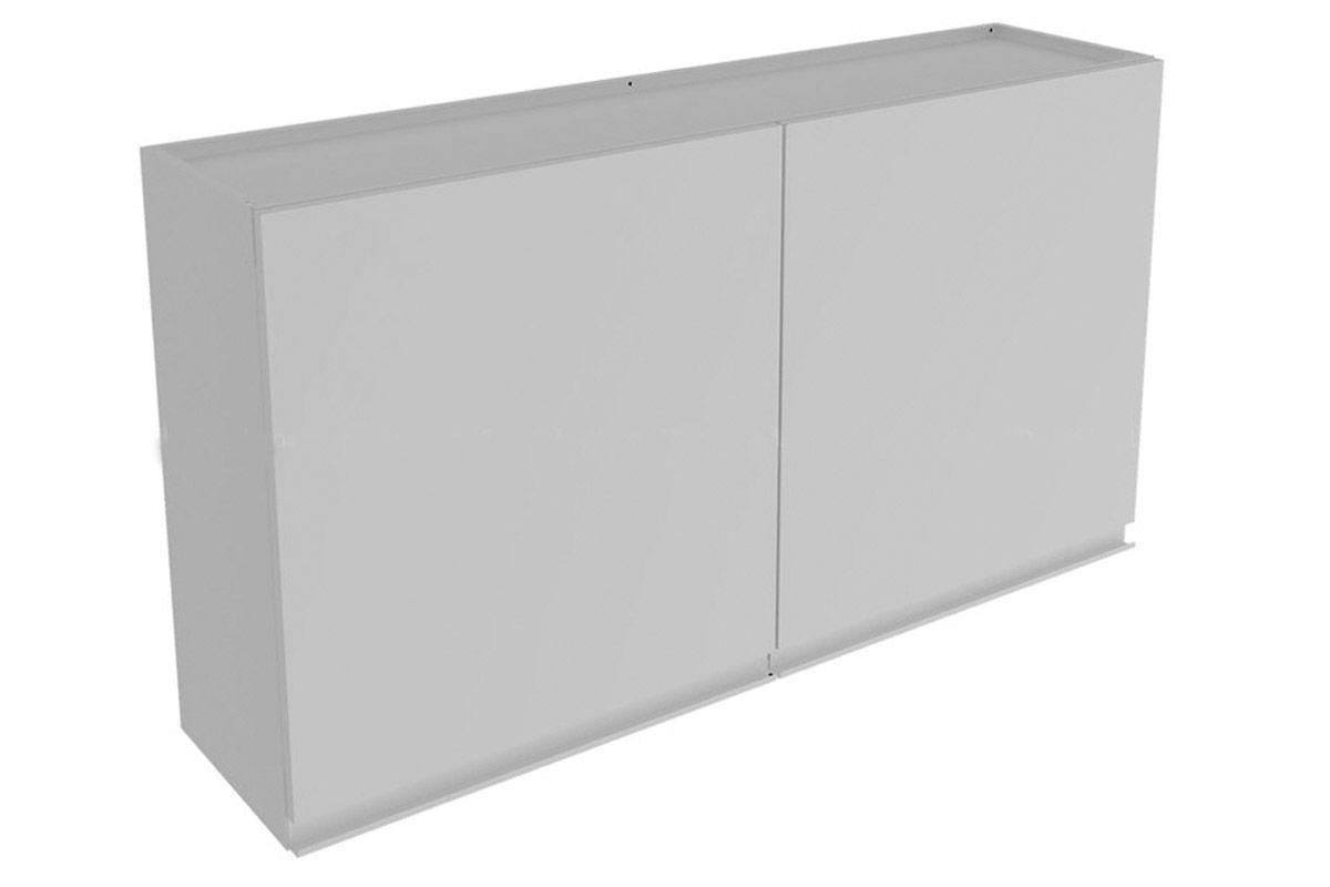 Armário de Cozinha Itatiaia Stilo Plus Aço 2 PortasCor Branco #666666 1200x800