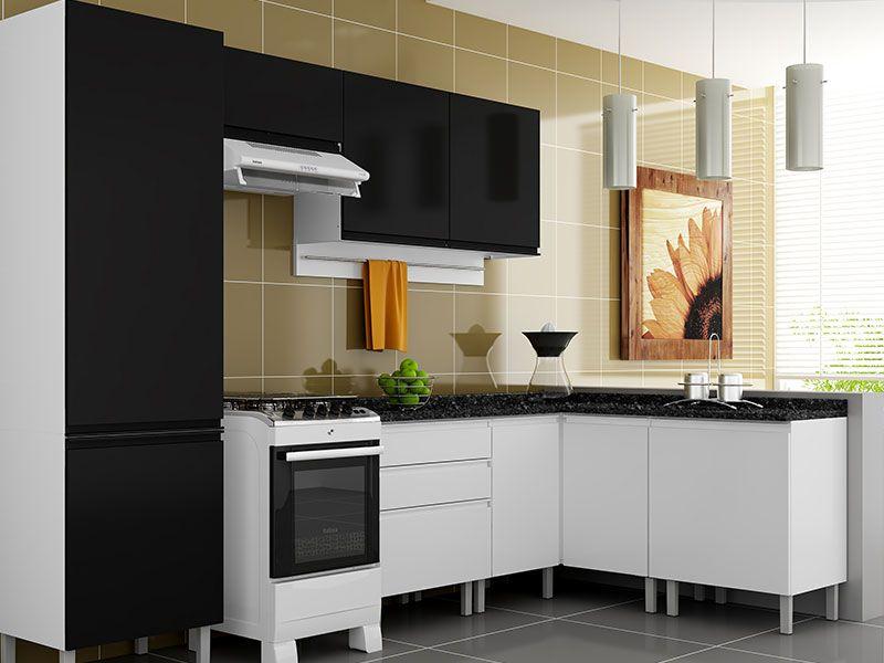 Aparador Baixo Para Sofa ~ Armário de Cozinha Itatiaia Stilo Plus Aço Horizontal 1 Porta até 40% OFF Filhao com