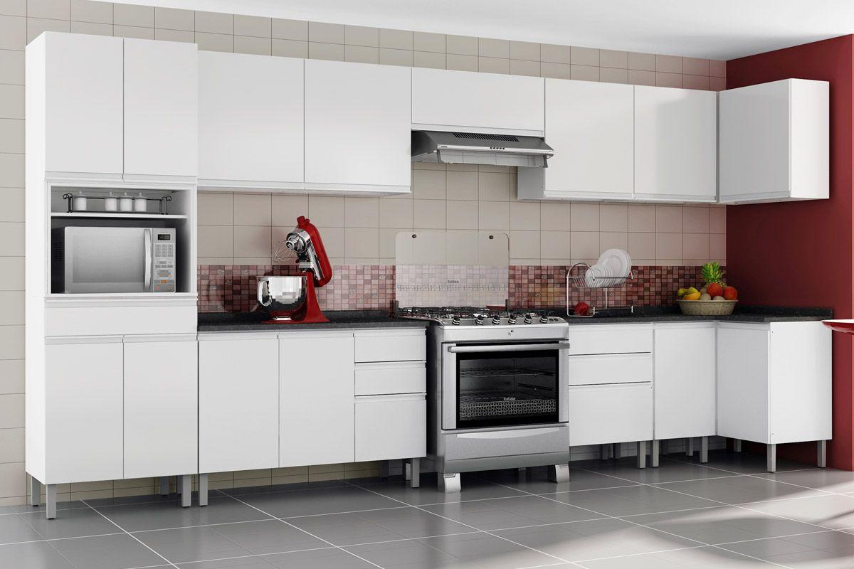 Wibamp Com Armario De Cozinha Na Loja Zenir Id Ias Do Projeto Da