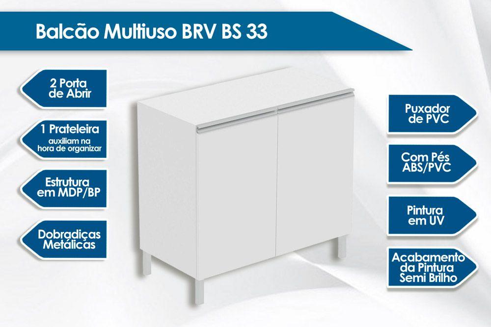 Balcão Profundo  BRV BS 33