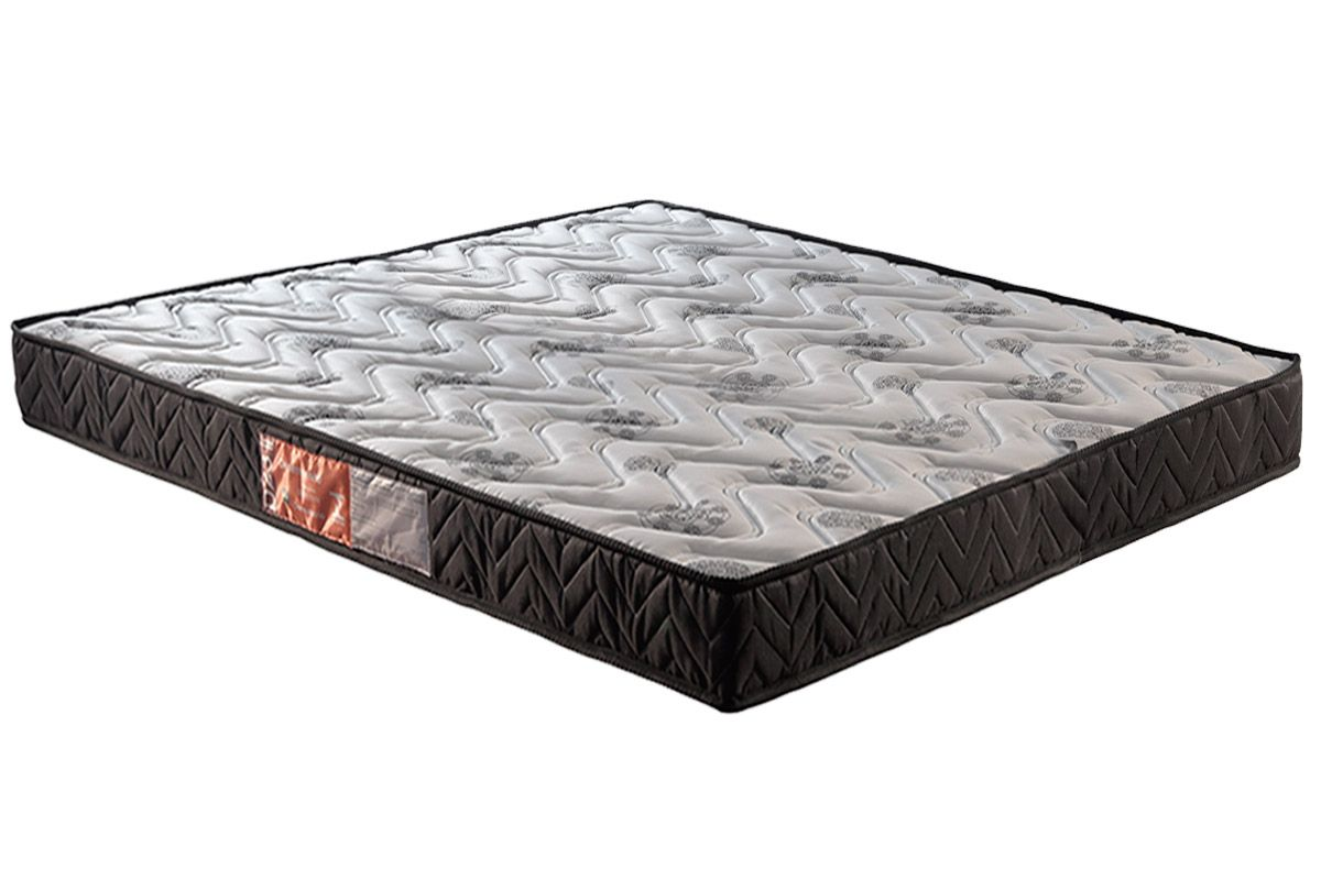 Colchão Paropas D45 Pasquale Black 20cmColchão Queen Size - 1,58x1,98x0,20 - Sem Cama Box