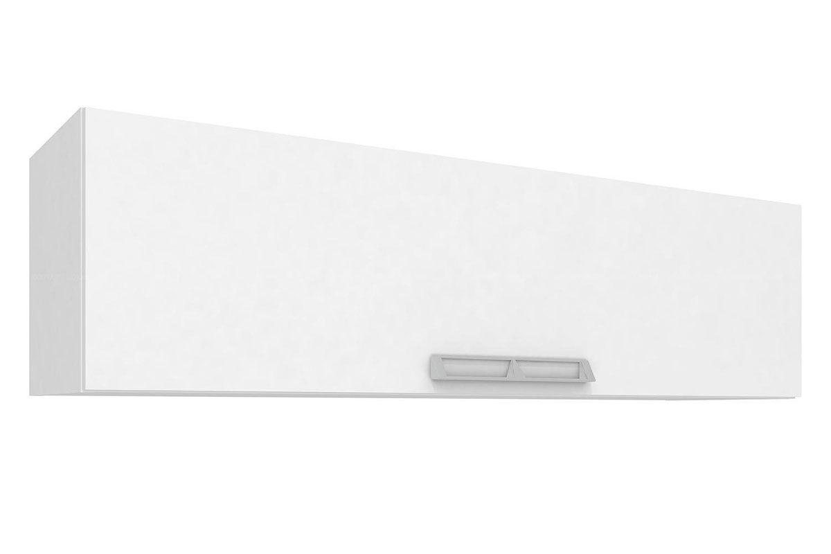 Armario Aéreo Art In Móveis CZ403 Basculante 1 Porta-Cor Branco c/ NudeCor Branco