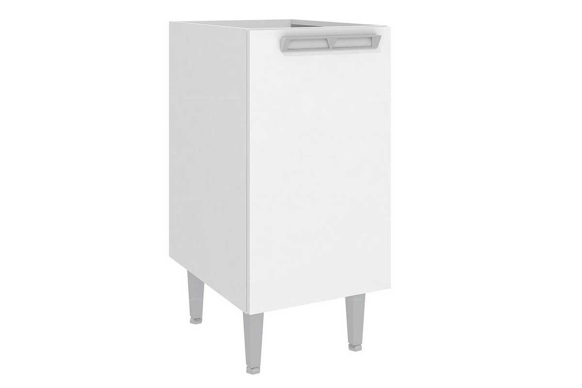 Balcão de Cozinha Art In Móveis CZ602 1 Porta 1 PrateleiraCor Branco