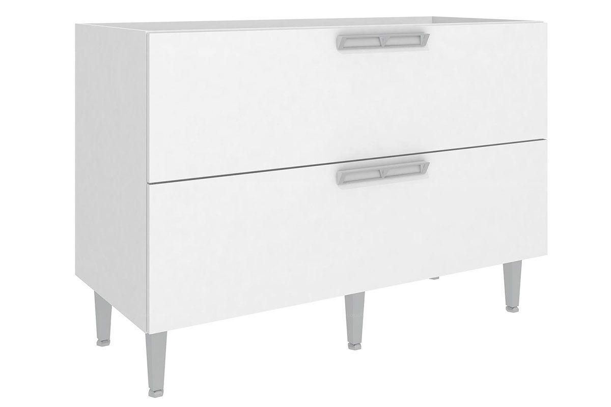 Balcão de Cozinha Art In Móveis Mia Coccina CZ612 2 Portas Basculante e 1 PrateleiraCor Branco