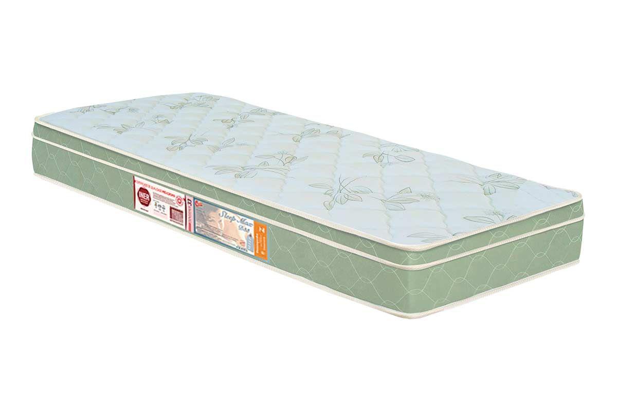 Colchão Castor Espuma D33 Sleep Max EuroColchão Solteiro - 0,88x1,88x0,25 - Sem Cama Box