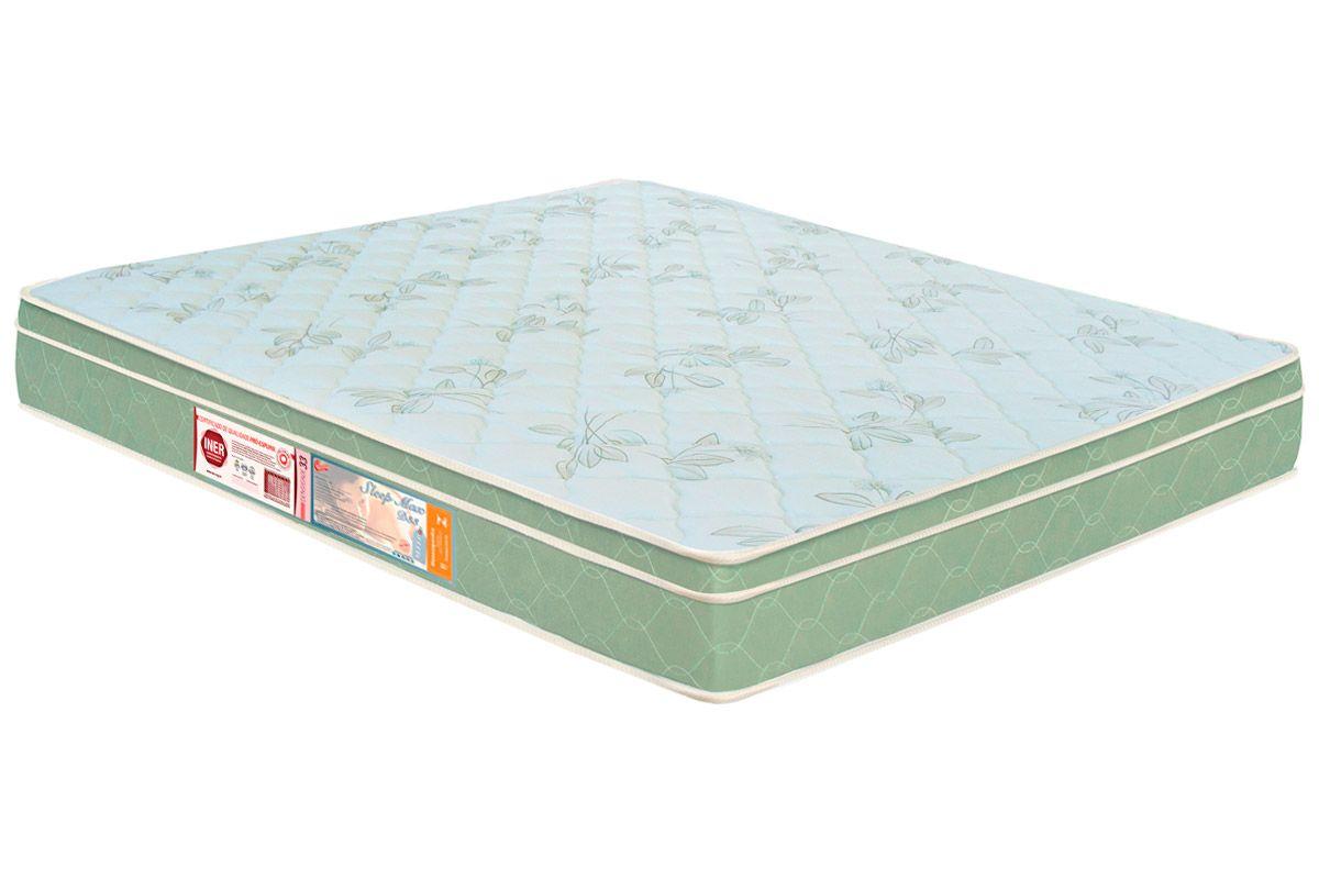 Colchão Castor Espuma D33 Sleep Max EuroColchão Queen Size - 1,58x1,98x0,25 - Sem Cama Box