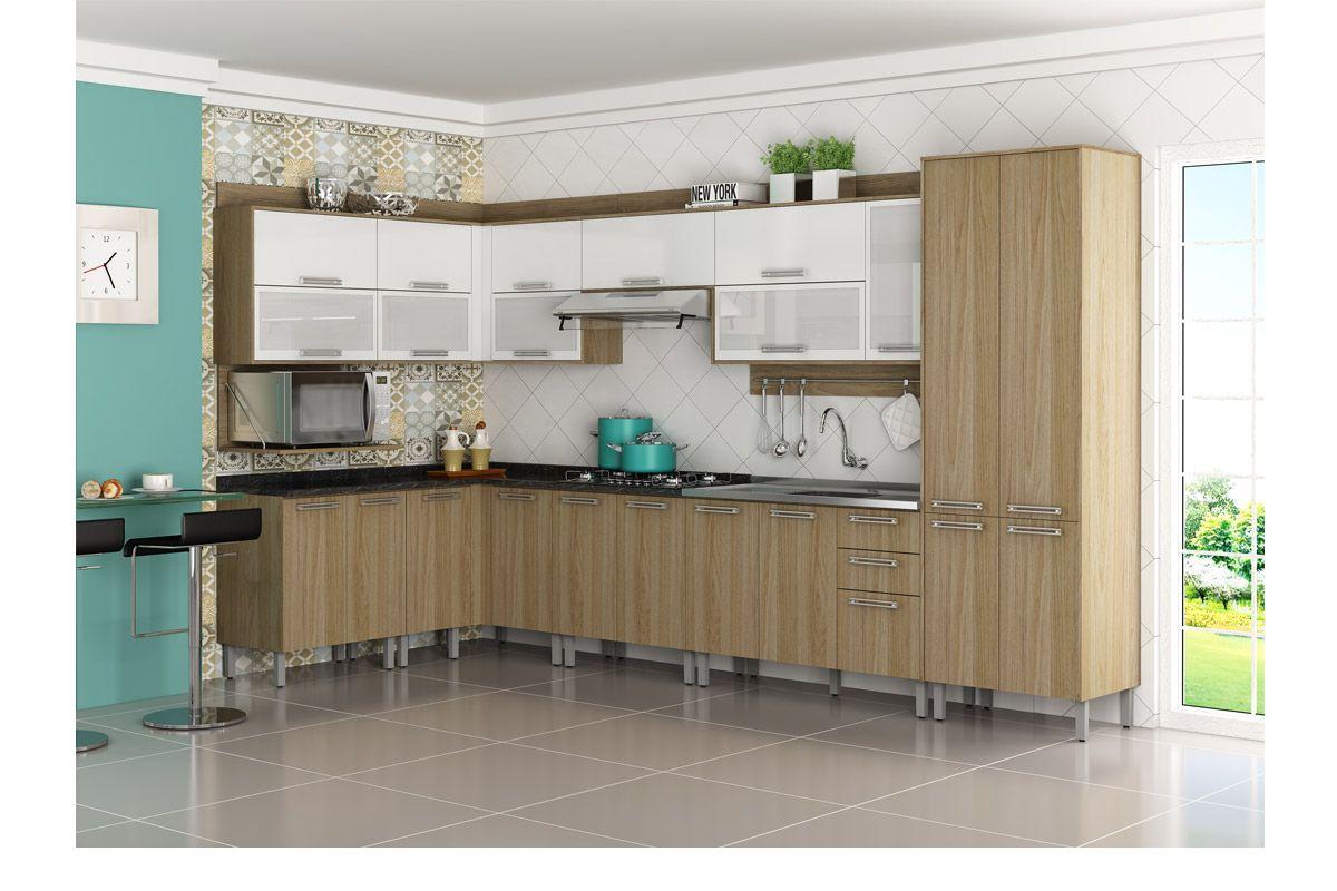 Cozinhas Itatiaia de Madeira Completas com Armário de Cozinha  #41786F 1200x800