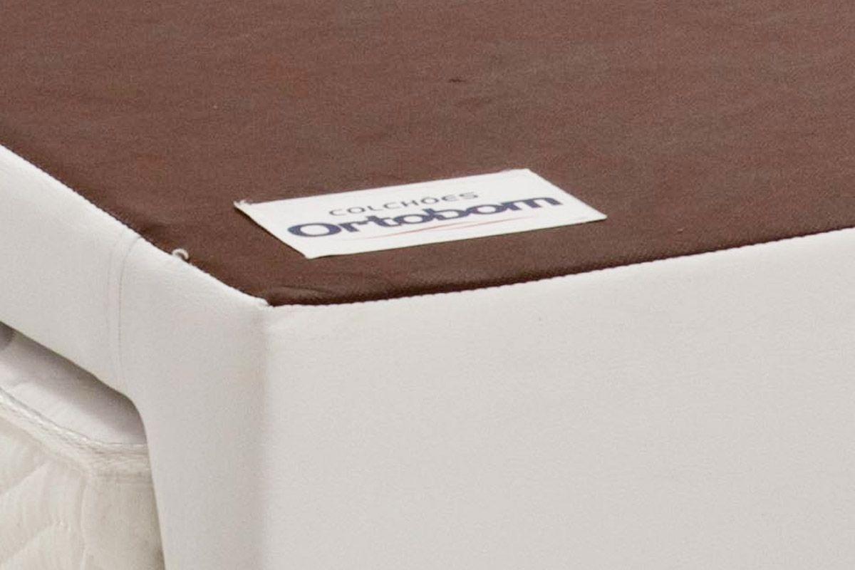 Bicama Box Ortobom Revolution c/ Auxiliar Couríno Bianco